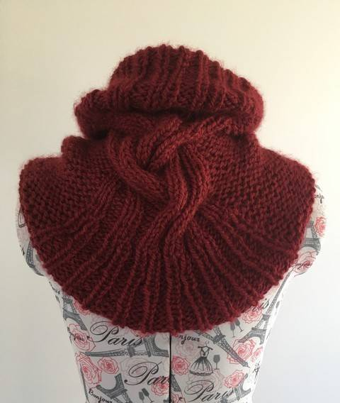 Download Snood for Agnes - knitting pattern immediately at Makerist