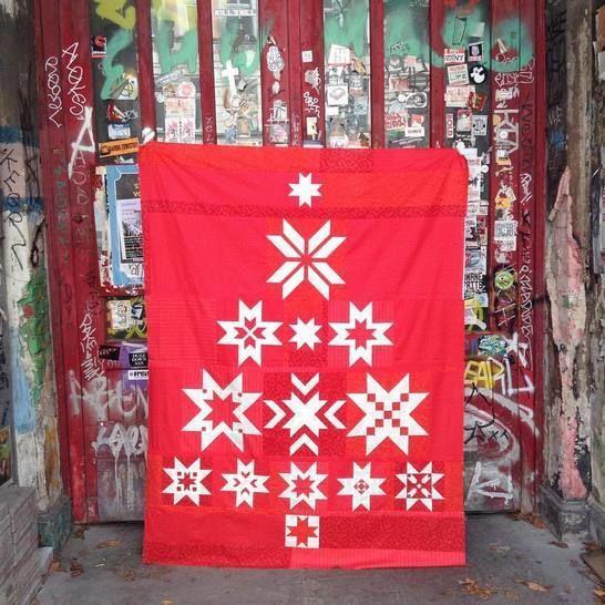 Christmas Tree - 13 Blöcke Quiltanleitung / Patchwork - Patchwork & Quilten bei Makerist sofort runterladen