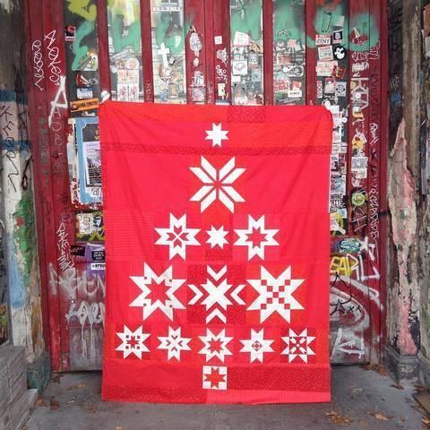Christmas Tree - 13 Blöcke Quiltanleitung / Patchwork bei Makerist sofort runterladen