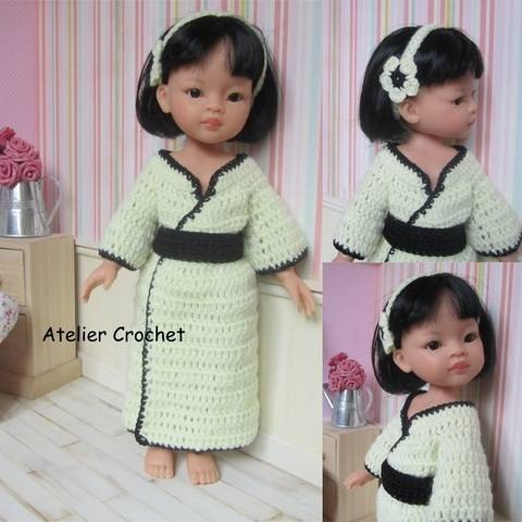 "Download ""Kimono"" crochet pattern for Paola Reina immediately at Makerist"
