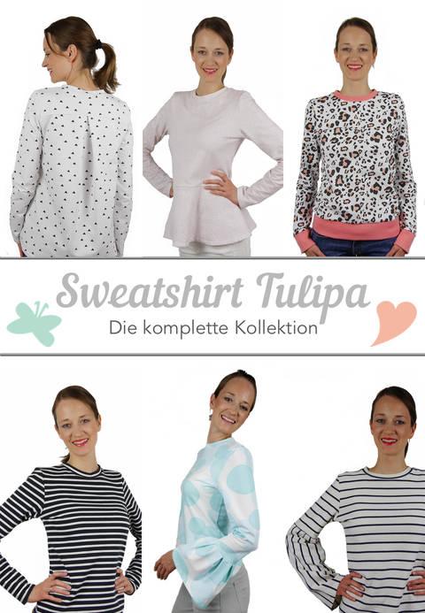 Sweatshirt-Kollektion TULIPA eBook bei Makerist sofort runterladen