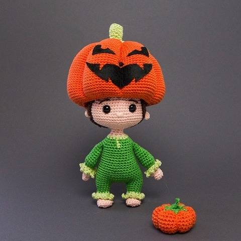 Jack O' Lantern - tutoriel de crochet chez Makerist