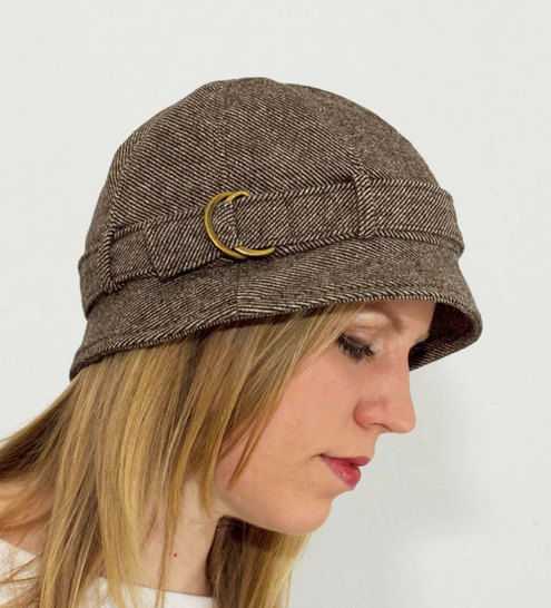 Download Strapped Hat Sewing Pattern immediately at Makerist
