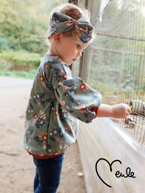 Shirt/Kleid Oolea Nähanleitung und ScHnittmuster bei Makerist sofort runterladen