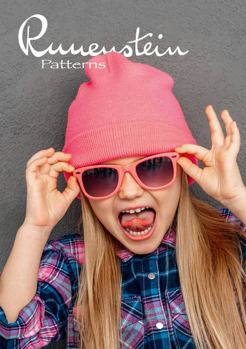 Download Girls Beanie Hetta 116-146 Pattern & Instruction immediately at Makerist