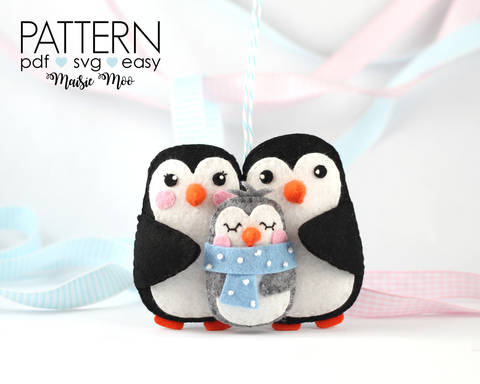 Download Babys First Christmas Ornament Pattern | New Baby immediately at Makerist