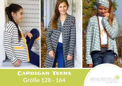 eBook • Cardigan Teens • Gr. 128 - 164 bei Makerist sofort runterladen