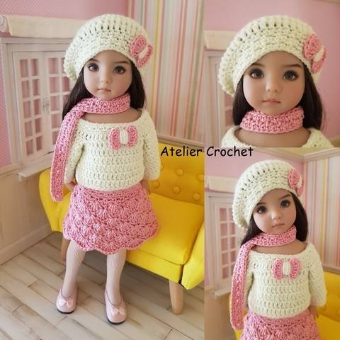 "Download ""Izaline"" crochet pattern for Little Darling immediately at Makerist"