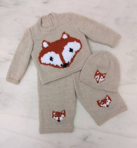 Download Fox Baby Outfit immediately at Makerist