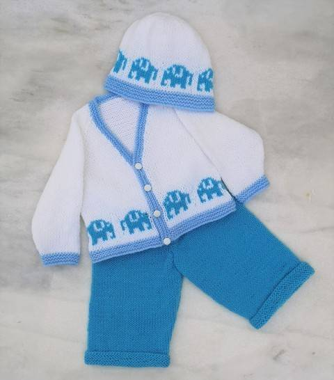 Download Elephant Baby Outfit immediately at Makerist