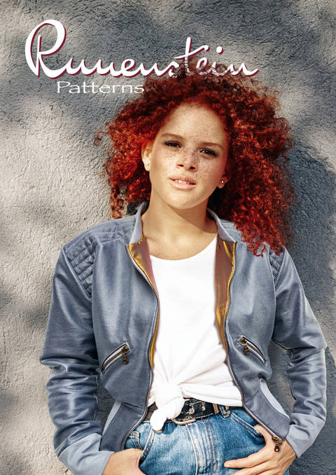 Download Glenna Blouson 32-46 Pattern & Instruction immediately at Makerist