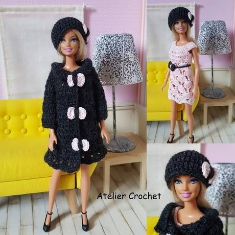 "Download ""Iris"" crochet pattern for Barbie immediately at Makerist"