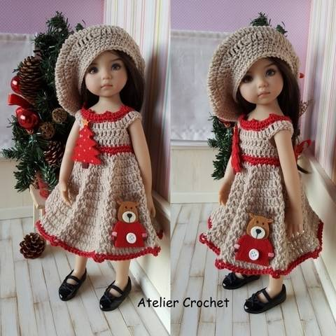 "Download ""Noëline"" crochet pattern for Little Darling immediately at Makerist"