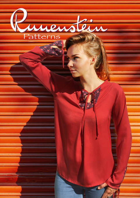 Download Pjatla Blouse 32-46 Pattern & Instruction immediately at Makerist