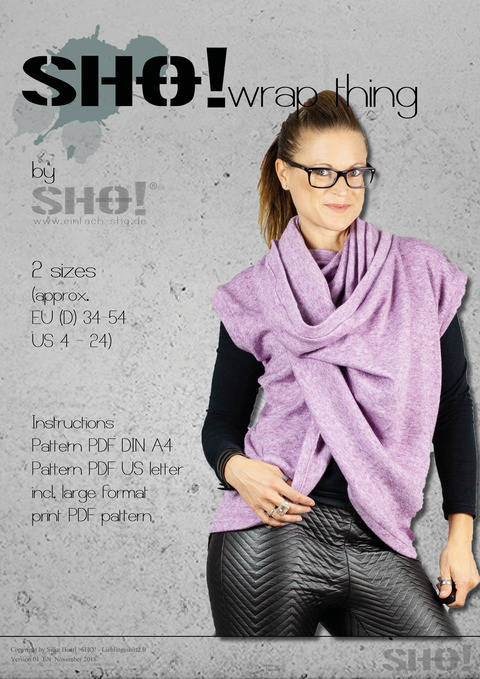 Download SHO!wrap thing - a versatile top immediately at Makerist