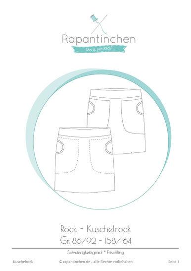 Ebook Kuschelrock mit Nähanleitung und Schnitt - Nähanleitungen bei Makerist sofort runterladen