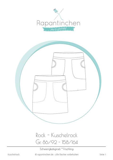 Ebook Kuschelrock mit Nähanleitung und Schnitt bei Makerist sofort runterladen