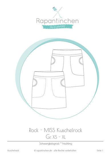 Ebook MISS Kuschelrock mit Nähanleitung und Schnitt - Nähanleitungen bei Makerist sofort runterladen