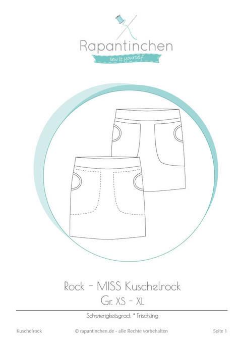 Ebook MISS Kuschelrock mit Nähanleitung und Schnitt bei Makerist sofort runterladen