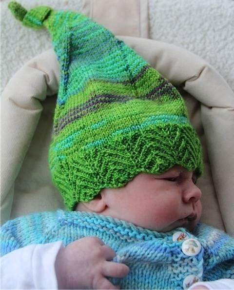 Mütze Anleitung Elfbaby, passt Neugeborene bis Erwachsene bei Makerist sofort runterladen