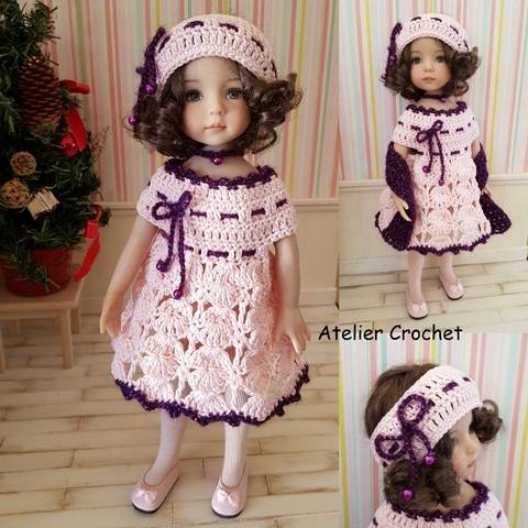 """Download """"Christmas Eve"""" crochet pattern for Little Darling immediately at Makerist"""