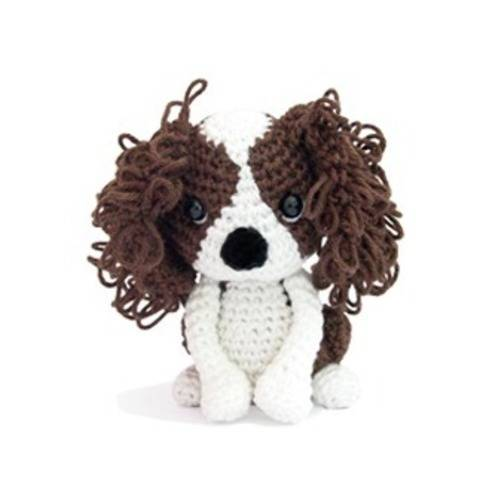 Lullabelle le cavalier king charles - tutoriel de crochet chez Makerist