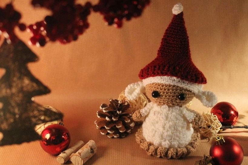 """Häkelanleitung """"Weihnachtslämmchen"""" - Häkelanleitungen bei Makerist sofort runterladen"""