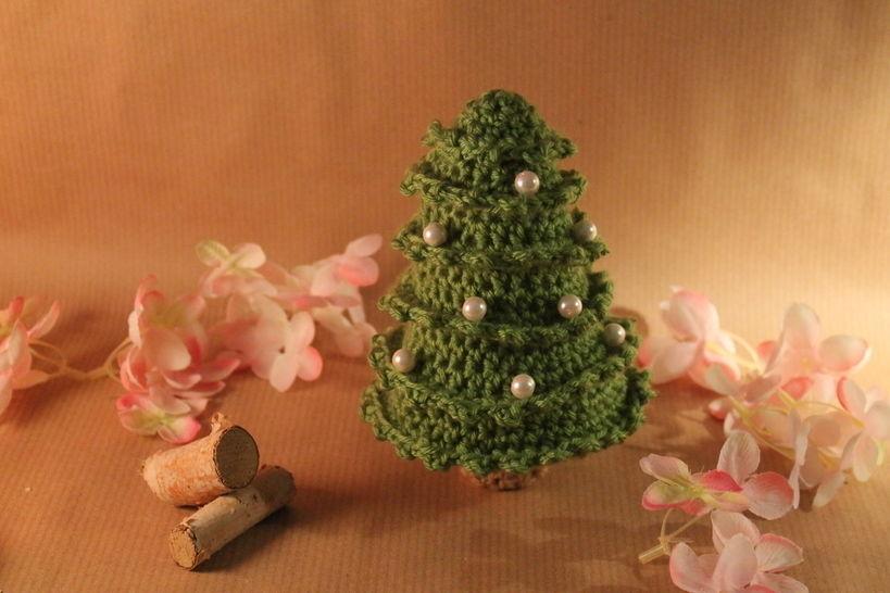 """Häkelanleitung """"Weihnachtsbaum"""" - Häkelanleitungen bei Makerist sofort runterladen"""