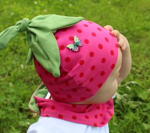 Download Strawberry hat - baby toddler - PDF immediately at Makerist
