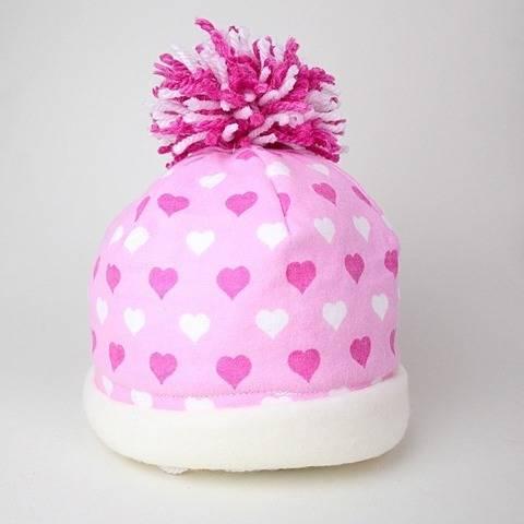 Nähanleitung Baby Pudelmütze Mütze & Bommel nähen bei Makerist sofort runterladen
