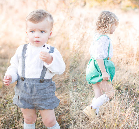 Download Bloomers for boys, girls and babies immediately at Makerist