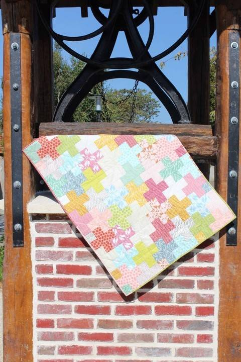 "Download Baby quilt blanket ""Fin d'été"" Summer end immediately at Makerist"
