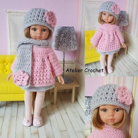 """Download """"Marianne"""" crochet pattern for Paola Reina immediately at Makerist"""