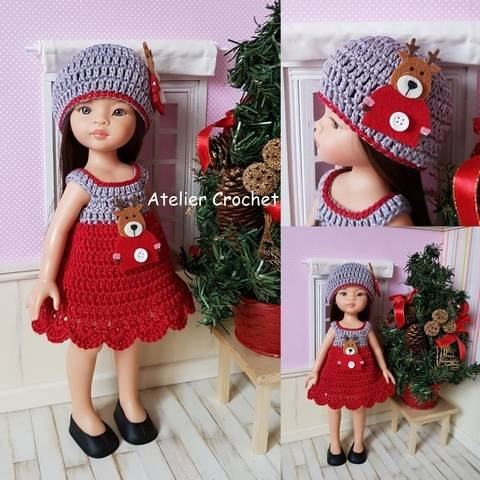 """Download """"Reindeer"""" crochet pattern for Paola Reina immediately at Makerist"""
