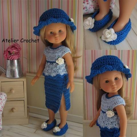 """Download """"Clémence"""" crochet pattern for Chérie Corolle or Paola Reina immediately at Makerist"""