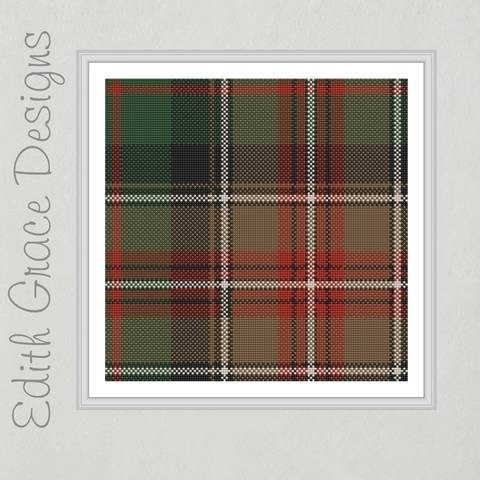 Download Johnson Plaid Needlepoint Pattern immediately at Makerist