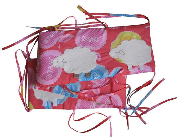 Nestchen mit Schafen, Schnittmuster Baby Junge Bettnestchen Bettumrandung - Nähanleitungen bei Makerist sofort runterladen