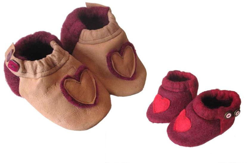 """""""hohe Schuhe mit Applikation"""", Gr.16-21 - Nähanleitungen bei Makerist sofort runterladen"""