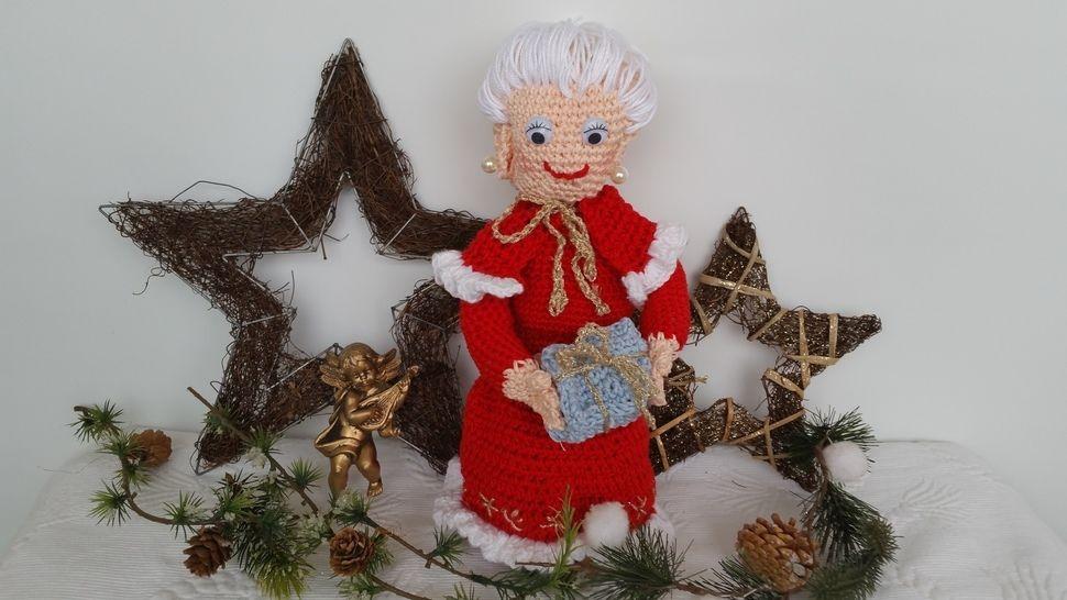 Häkelanleitung  Mrs.Claus Christmas Edition No.2 - Häkelanleitungen bei Makerist sofort runterladen