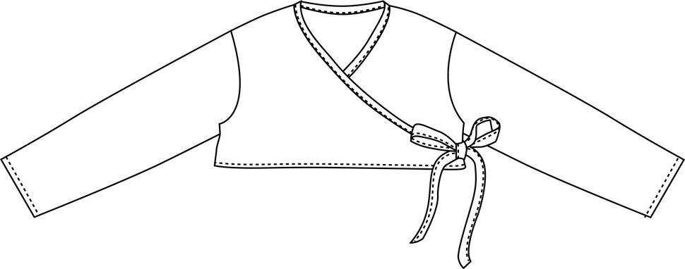 """Wickeljacke"", Gr.50-92 - Nähanleitungen bei Makerist sofort runterladen"