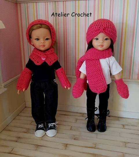 """Download """"Warmly Dressed"""" crochet pattern for Paola Reina immediately at Makerist"""