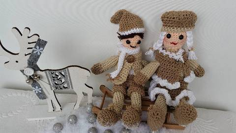 Häkelanleitung Christmas Edition Set No.2 bei Makerist sofort runterladen