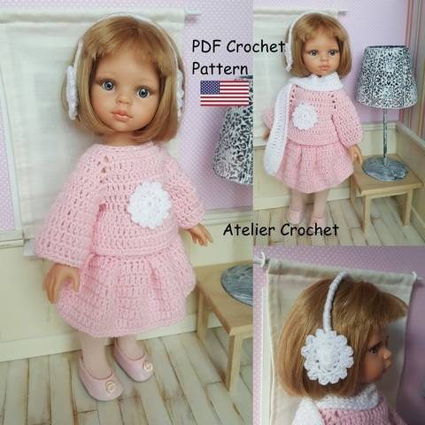 """Download """"Charline"""" crochet pattern for Paola Reina immediately at Makerist"""