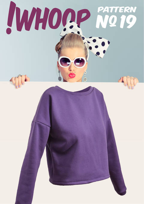 Download !WHOOP NO 19 SWEATER PATTERN SIZES 32-46 immediately at Makerist
