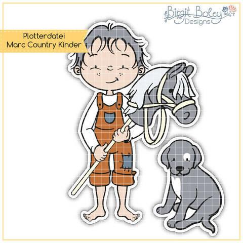 Birgit Boley Designs • Marc Country Kinder bei Makerist sofort runterladen