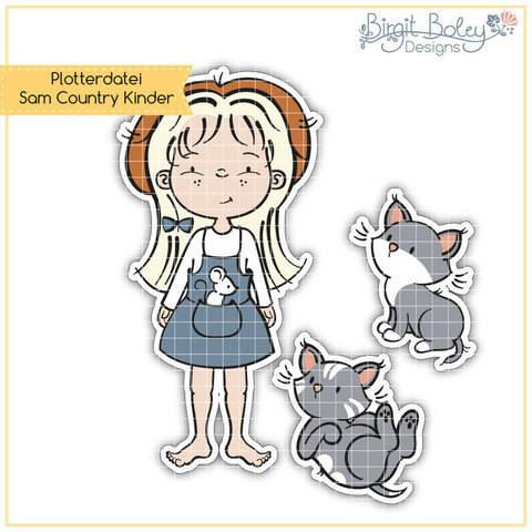 Birgit Boley Designs • Sam Country Kinder  bei Makerist sofort runterladen