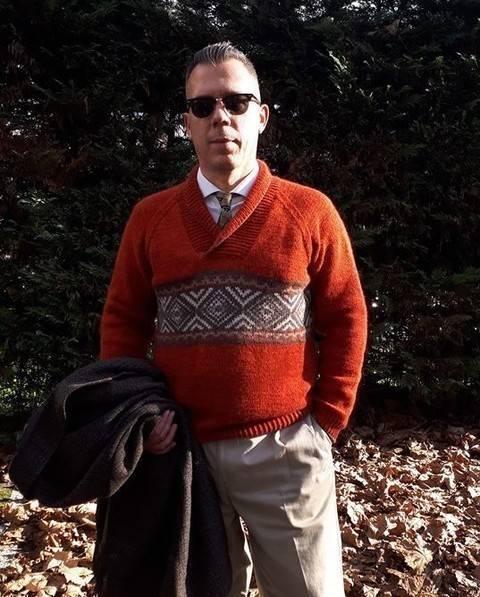 Télécharger Pull pour Homme - Livnas - modèle tricot tout de suite sur Makerist