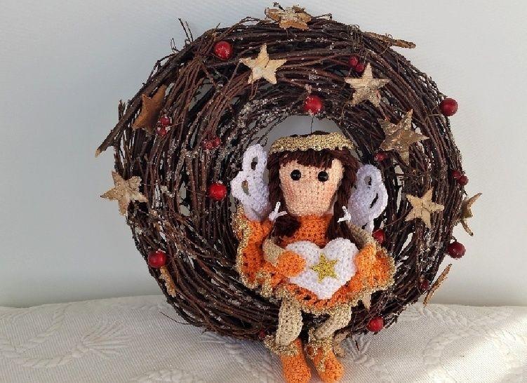 Engel Luisa Christmas Edition No.5 - Häkelanleitungen bei Makerist sofort runterladen