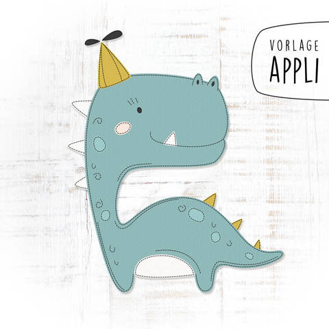 HAPPY DINO Applikationsvorlage bei Makerist sofort runterladen