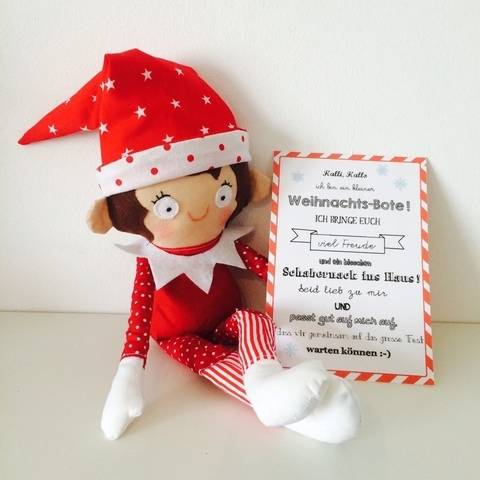 Ebook Kleiner Weihnachts-Bote Wichtel Elf bei Makerist sofort runterladen